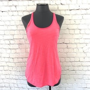 Lululemon What The Sport Singlet Neon Pink Size 6